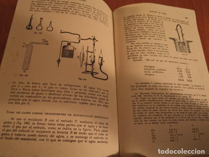 Libros de segunda mano de Ciencias: TRATADO DE QUÍMICA ANALÍTICA ANÁLISIS CUANTITATIVA PROF. TREADWELL ED. MARÍN 1941 - Foto 10 - 194973163