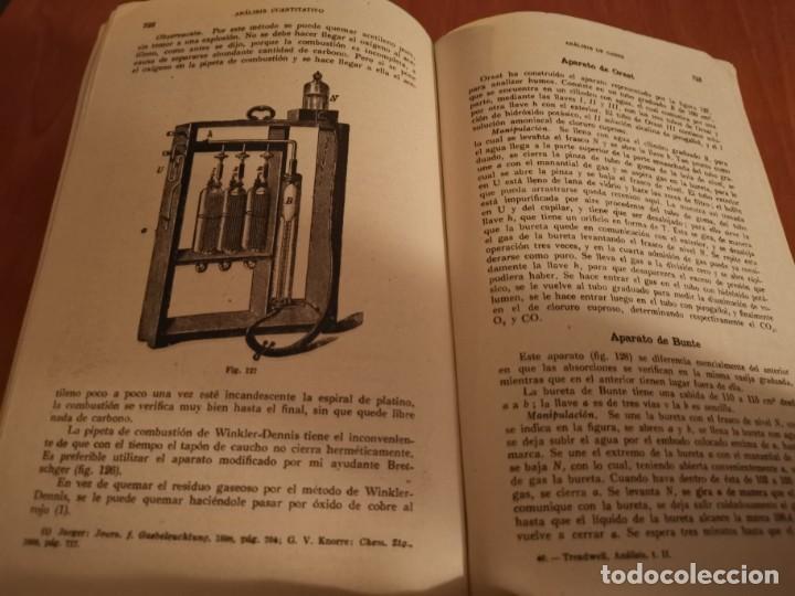 Libros de segunda mano de Ciencias: TRATADO DE QUÍMICA ANALÍTICA ANÁLISIS CUANTITATIVA PROF. TREADWELL ED. MARÍN 1941 - Foto 11 - 194973163