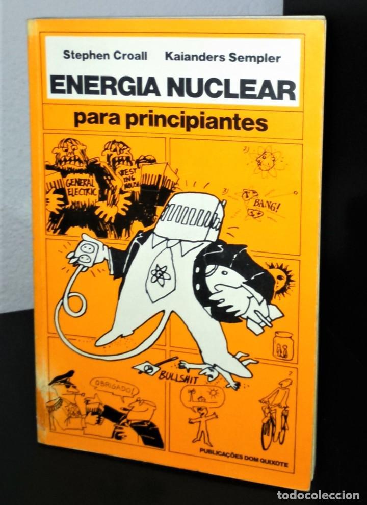 ENERGIA NUCLEAR PARA PRINCIPIANTES DE STEPHEN CROALL (Libros de Segunda Mano - Ciencias, Manuales y Oficios - Física, Química y Matemáticas)