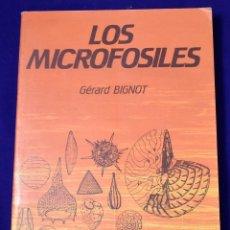 Libros de segunda mano: LOS MICROFÓSILES (MICROPALEONTOLOGÍA). BIGNOT, GÉRARD. Lote 195001815