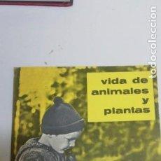 Libros de segunda mano: VIDA DE ANIMALES Y PLANTAS.PARANINFO.TEIDE.. Lote 195024316