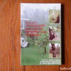 Libros de segunda mano: LIBRO PLAGAS Y ENFERMEDADES EN LOS ARBOLES FRUTALES DE ASTURIAS. Lote 195076687