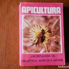 Libros de segunda mano: LIBRO APICULTURA J.M. SEPULVEDA BIBLIOTECA AGRÍCOLA AEDOS. Lote 195076798