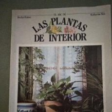 Libros de segunda mano: EL ABC DE LAS PLANTAS DE INTERIOR 1974 JOCELYN BAINES / KATHERINE KEY 1ª EDICIÓN H. BLUME. Lote 195085913