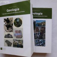 Libros de segunda mano: GEOLOGIA (VOL. I Y 2): UNA VISION MODERNA DE LAS CIENCIAS DE LA TIERRA, FERNANDO BASTIDA. Lote 195104186
