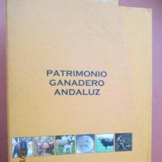 Libros de segunda mano: PATRIMONIO GANADERO ANDALUZ ,TOMOS I,II Y III - VER DETALLE DE LOS TRES LIBROS EN ESTUCHE . Lote 195135883