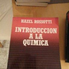 Libros de segunda mano de Ciencias: INTRODUCCIÓN A LA QUÍMICA. HAZEL ROSSOTTI. BIBLIOTECA CIENTIFICA SALVAT. Nº 16. 1985. Lote 195153545