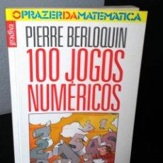 Libros de segunda mano de Ciencias: 100 JOGOS NUMÉRICOS DE PIERRE BERLOQUIN. Lote 195192937