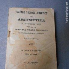 Libros de segunda mano de Ciencias: ARITMETICA AL ALCANCE DE TODOS. Lote 195208926