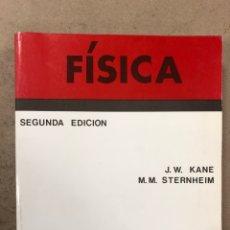 Libros de segunda mano de Ciencias: FÍSICA. J.W. KANE Y M.M. STERNHEIM. EDITORIAL REVERTÉ 1996. ILUSTRADO. 795 PÁGINAS.. Lote 195264926
