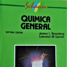Libros de segunda mano de Ciencias: QUIMICA GENERAL- SCHAUM - JEROME / LAWRENCE - MCGRAW HILL. Lote 195288993