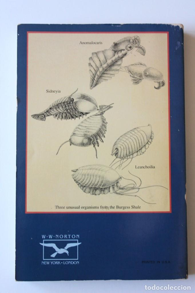 Libros de segunda mano: Stephen Jay Gould - Wonderful life. The Burgess Shale and the nature of history - Norton - Foto 3 - 195308543