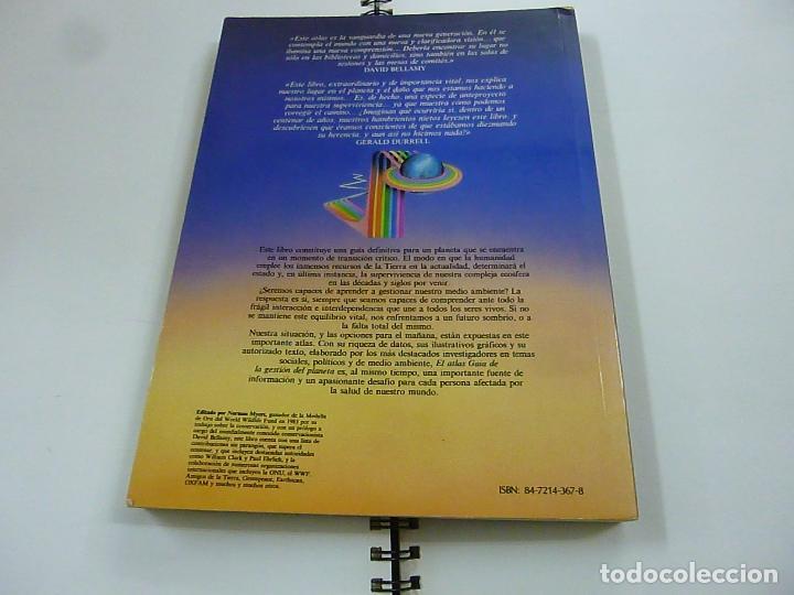 Libros de segunda mano: EL ATLAS GAIA DE LA GESTION DEL PLANETA - HERMANN BLUME - N 7 - Foto 2 - 195314722