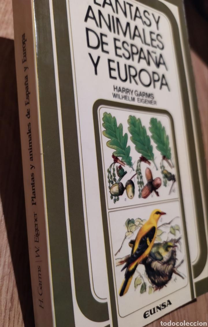 Libros de segunda mano: PLANTAS Y ANIMALES DE ESPAÑA Y EUROPA. Harry Garms - Foto 2 - 195328631