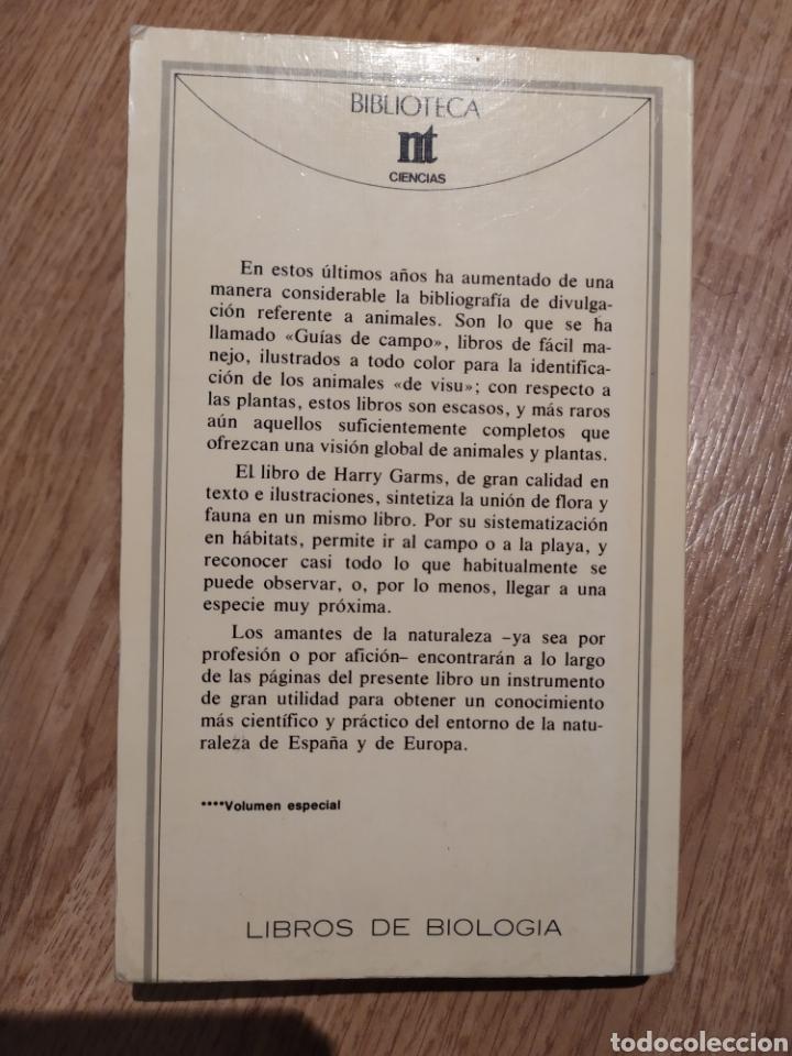 Libros de segunda mano: PLANTAS Y ANIMALES DE ESPAÑA Y EUROPA. Harry Garms - Foto 3 - 195328631