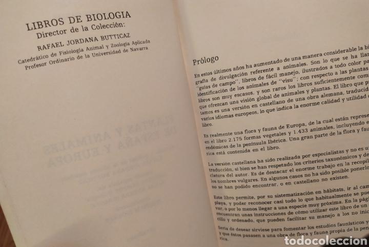 Libros de segunda mano: PLANTAS Y ANIMALES DE ESPAÑA Y EUROPA. Harry Garms - Foto 6 - 195328631