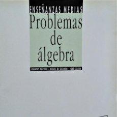 Libros de segunda mano de Ciencias: RESOLUCIÓN DE ECUACIONES Y PROBLEMAS DE ALGEBRA - GAZTELU / COLERA / OTROS - ANAYA. Lote 193398453