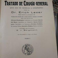 Libros de segunda mano de Ciencias: BIBLIOTECA DE CIENCIAS MÉDICAS. CIRUGÍA GENERAL. 1913. Lote 195384488