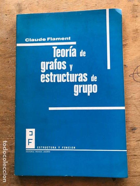 TEORÍA DE GRAFOS Y ESTRUCTURAS DE GRUPO. CLAUDE FLAMENT. (Libros de Segunda Mano - Ciencias, Manuales y Oficios - Física, Química y Matemáticas)