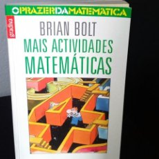 Libros de segunda mano de Ciencias: MAIS ACTIVIDADES MATEMÁTICAS DE BRIAN BOLT. Lote 195431903