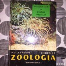 Libros de segunda mano: ZOOLOGÍA. COLECCIÓN M.S DE CIENCIAS NATURALES. Lote 195432895
