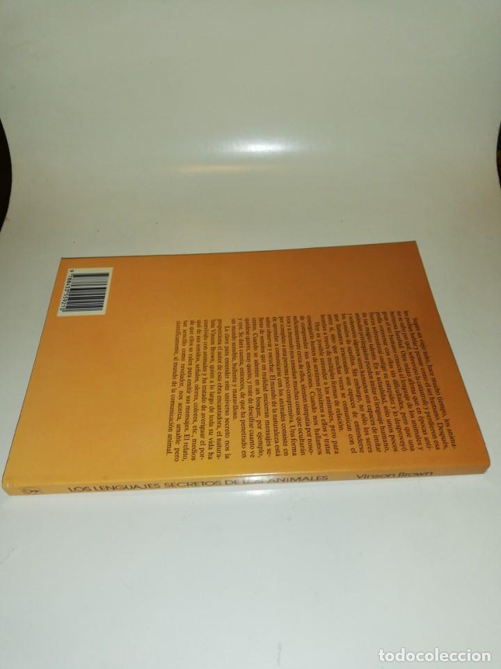 Libros de segunda mano: Vinson brown , los lenguajes secretos de los animales - Foto 2 - 195438998
