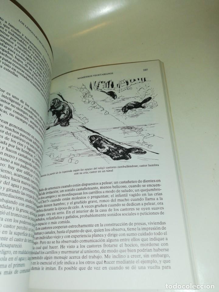 Libros de segunda mano: Vinson brown , los lenguajes secretos de los animales - Foto 4 - 195438998