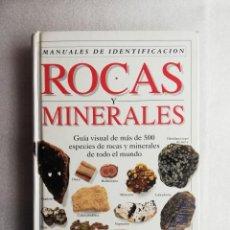 Libros de segunda mano: ROCAS Y MINERALES - MANUALES DE IDENTIFICACIÓN - CHRIS PELLANT. ED. OMEGA. Lote 195444603