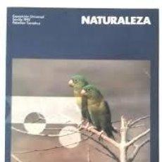 Libros de segunda mano: NATURALEZA. EXPOSICIÓN UNIVERSAL SEVILLA 1992. PABELLÓN TEMÁTICO. EXPO'92. SEVILLA. Lote 195457308