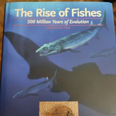 Libros de segunda mano: THE RISE IF FISHES. 500 MILLION YEARS OF EVOLUTION. JOHN A LONG. 2011. Lote 195544762