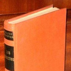 Libros de segunda mano: LOS INSECTOS POR WALTER FORSTER DE EDICIONES OMEGA EN BARCELONA 1969. Lote 195728200