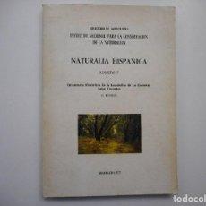 Libri di seconda mano: NATURALIA HISPÁNICA Nº7 INVENTARIO FLORÍSTICO DE LA LAURISILVA DE LA GOMERA, ISLAS CANARIAS Y99099T . Lote 195824563