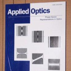 Libros de segunda mano de Ciencias: APPLIED OPTICS VOL 47 Nº 22 1-8-2008. Lote 195947863