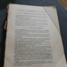 Libros de segunda mano de Ciencias: ELEMENTOS DE ANALISIS ALGEBRAICOS REY PASTOR. Lote 195968957