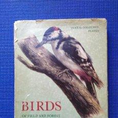 Libros de segunda mano: BIRDS OF FIELD AND FOREST ALL IN COLOUR PAJAROS AVES ORNITOLOGIA. Lote 196344051