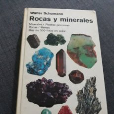 Livres d'occasion: ROCAS Y MINERALES. WALTER SCHUMANN. OMEGA. Lote 196765952