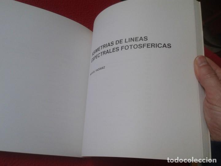 Libros de segunda mano de Ciencias: LIBRO 1987 LECCIONES DE FÍSICA SOLAR IAC INSTITUTO ASTROFÍSICA CANARIAS, 211 PÁGINAS, Nº 5 SERIE C - Foto 7 - 196781071