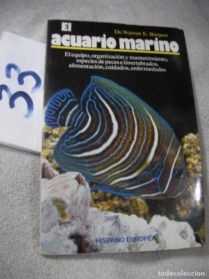 El Acuario Marino Comprar Libros De Biología Y Botánica En Todocoleccion 197237886