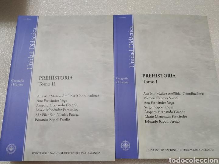 Libros de segunda mano: PREHISTORIA. UNED. 2 tomos. Nuevos - Foto 2 - 197673647