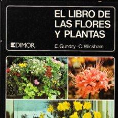 Libros de segunda mano: EL LIBRO DE LAS FLORES Y PLANTAS E. GUNDRY C.WICKHAM JAIMES LIBROS BARCELONA 1979. Lote 197973643