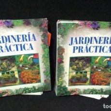 Libros de segunda mano: JARDINERÍA PRÁCTICA - LOTE DE 2 ARCHIVADORES CON FICHAS - ORBIS. Lote 198041430