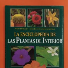 Livros em segunda mão: LIBRO LA ENCICLOPEDIA DE LAS PLANTAS DE INTERIOR NICO VERMEULEN LIBSA EDICIÓN RICHARD ROSENFELD. Lote 198206231