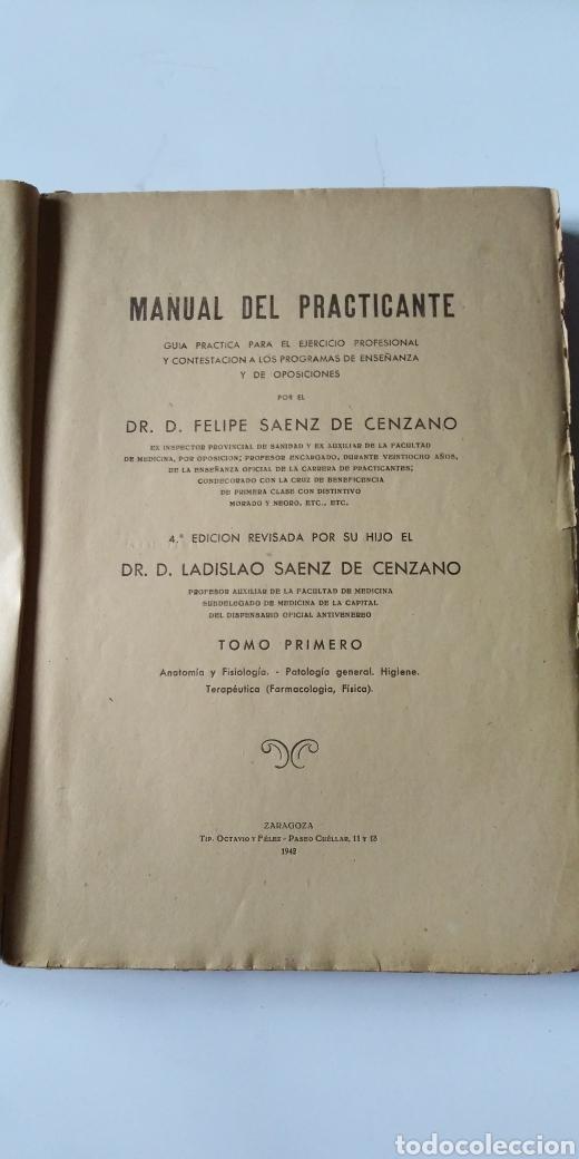 Libros de segunda mano de Ciencias: MANUAL DEL PRACTICANTE - Foto 4 - 198533457