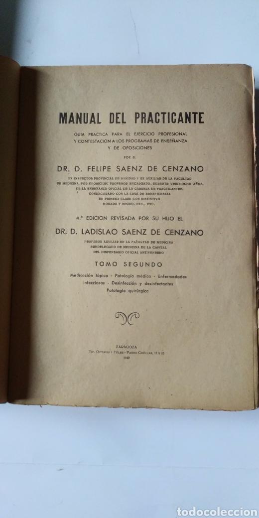 Libros de segunda mano de Ciencias: MANUAL DEL PRACTICANTE - Foto 6 - 198533457