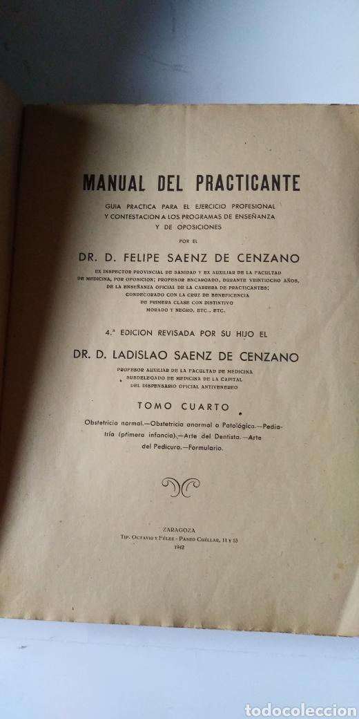 Libros de segunda mano de Ciencias: MANUAL DEL PRACTICANTE - Foto 10 - 198533457