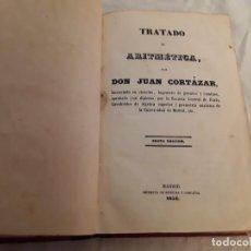 Libros de segunda mano de Ciencias: TRATADO DE ARITMÉTICA . Lote 199731965