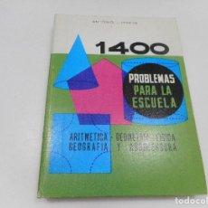 Livros em segunda mão: ANTONIO J. ONIEVA 1400 PROBLEMAS PARA LA ESCUELA Q83W. Lote 199851261