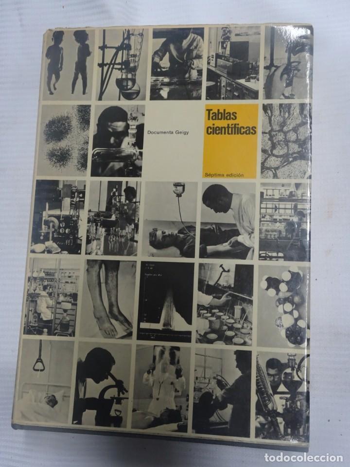 DOCUMENTA GEIGY. TABLAS CIENTÍFICAS , 1975 , VER FOTOS (Libros de Segunda Mano - Ciencias, Manuales y Oficios - Física, Química y Matemáticas)