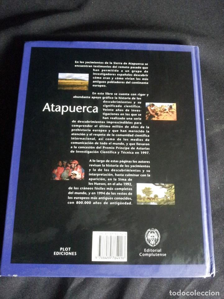 Libros de segunda mano: ATAPUERCA, UN MILLON DE AÑOS DE HISTORIA - VARIOS AUTORES - PLOT EDICIONES 1999 - Foto 2 - 200791265