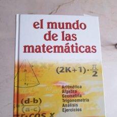 Libros de segunda mano de Ciencias: EL MUNDO DE LA MATEMÁTICAS. Lote 201108991